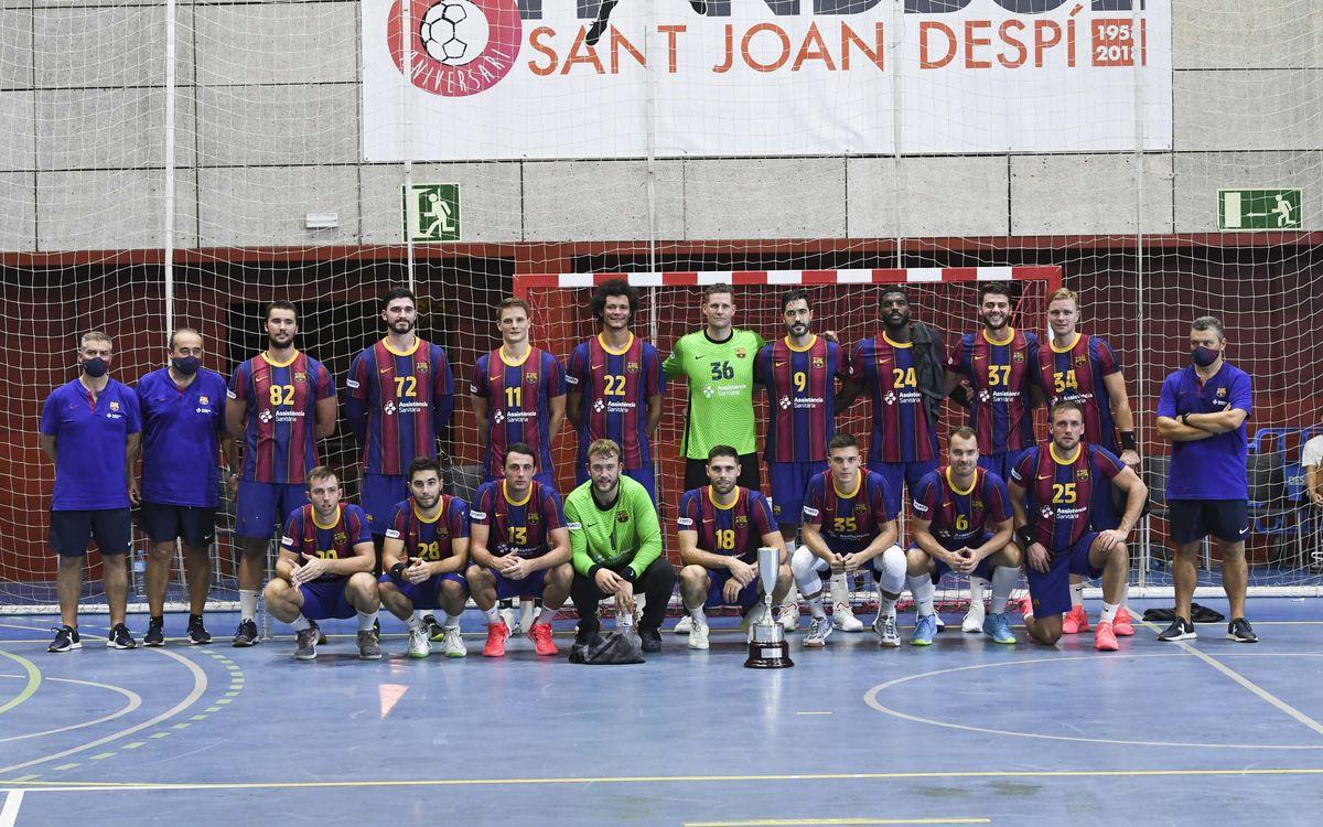 Barça - Fraikin BM Granollers: Regreso, victoria y título (32-25)