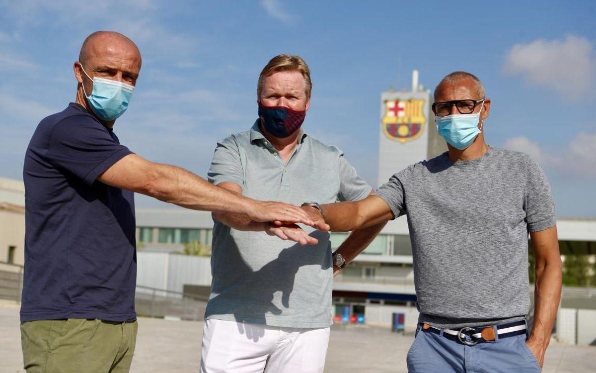 Schreuder and Larsson join Koeman's coaching staff