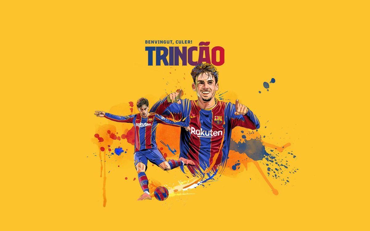 La presentació de Trincão, aquest dimecres