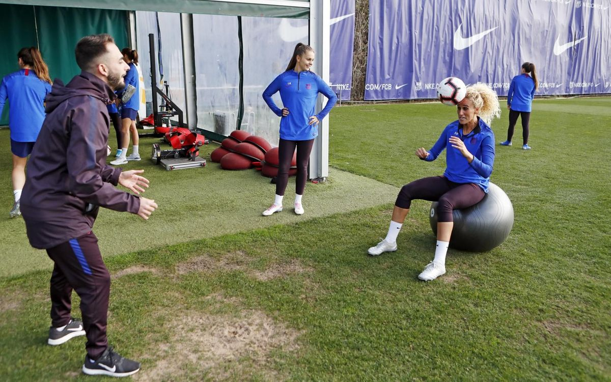 Barça collaborate with FIFA on scientific study of women's football