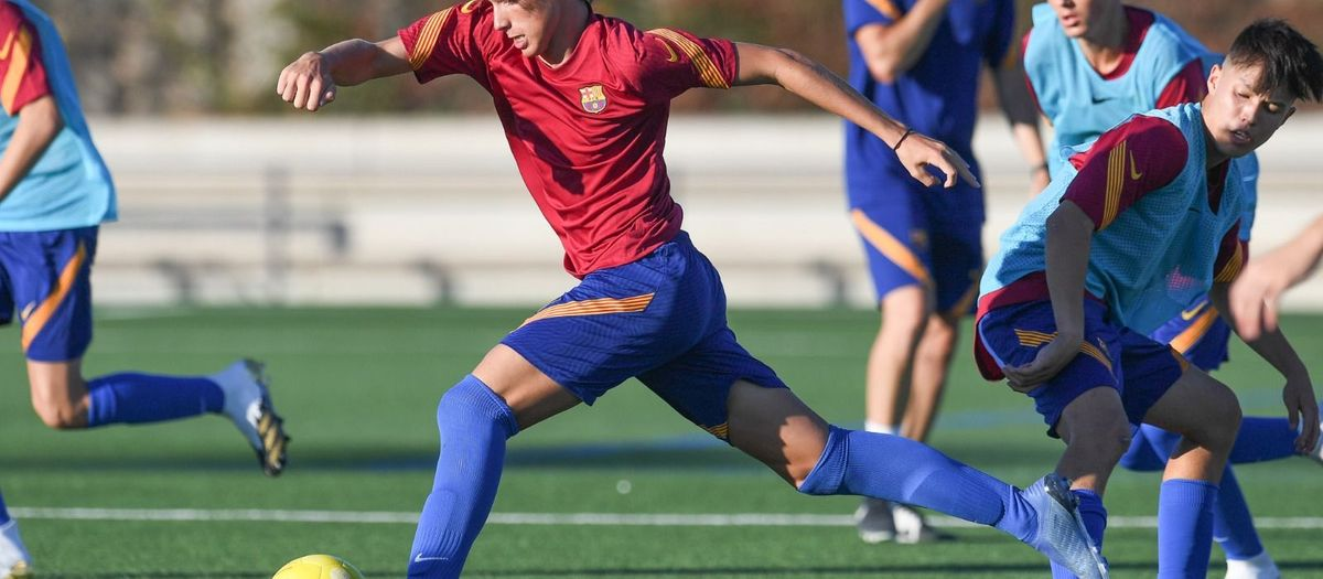FC Barcelona's U16 and U14 teams have already been defined