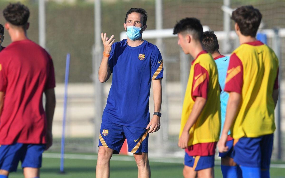 El fútbol 11 formativo del FC Barcelona ya está en marcha