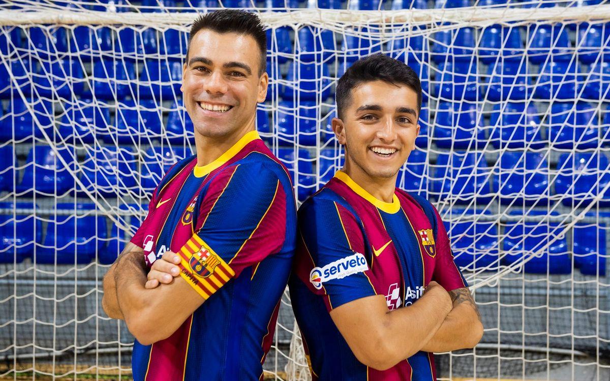 Lozano y Povill, experiencia y juventud persiguiendo la Champions
