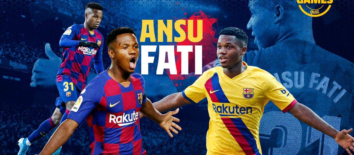 Quant saps de l'any del debut d'Ansu Fati?