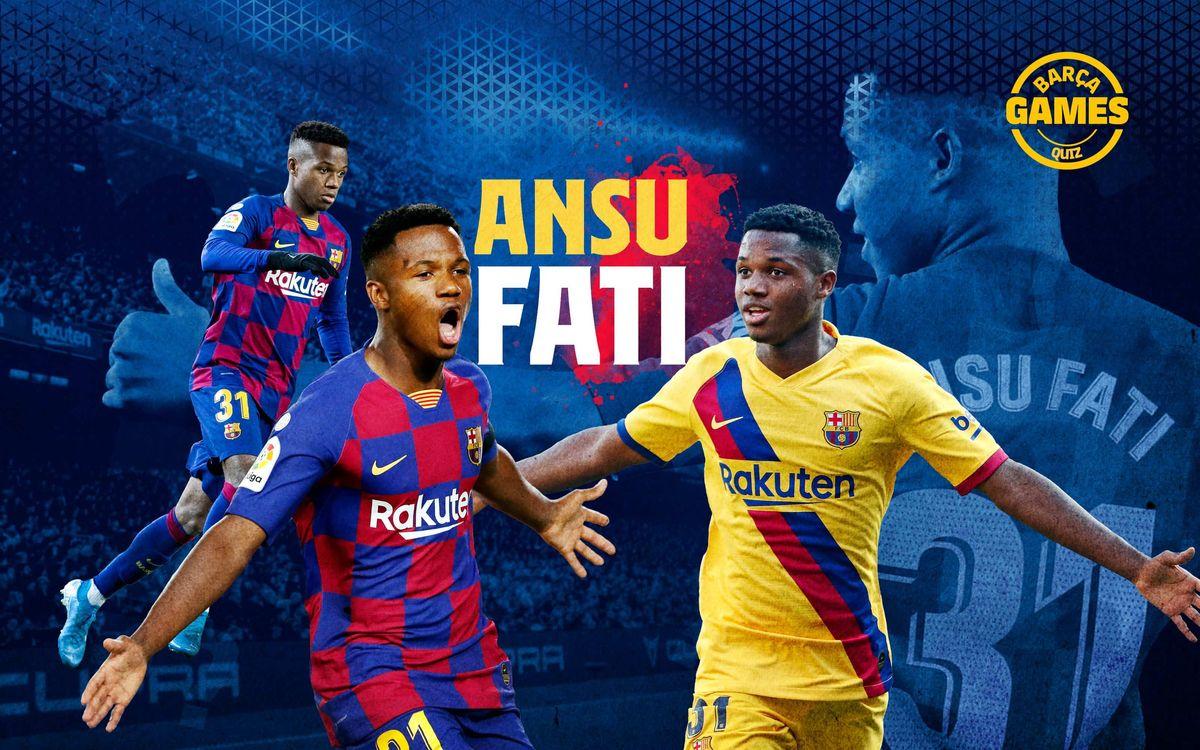 ¿Cuánto sabes del año del debut de Ansu Fati?
