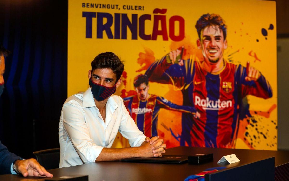 """Trincão : """"J'espère que les supporteurs se régaleront en me voyant jouer"""""""