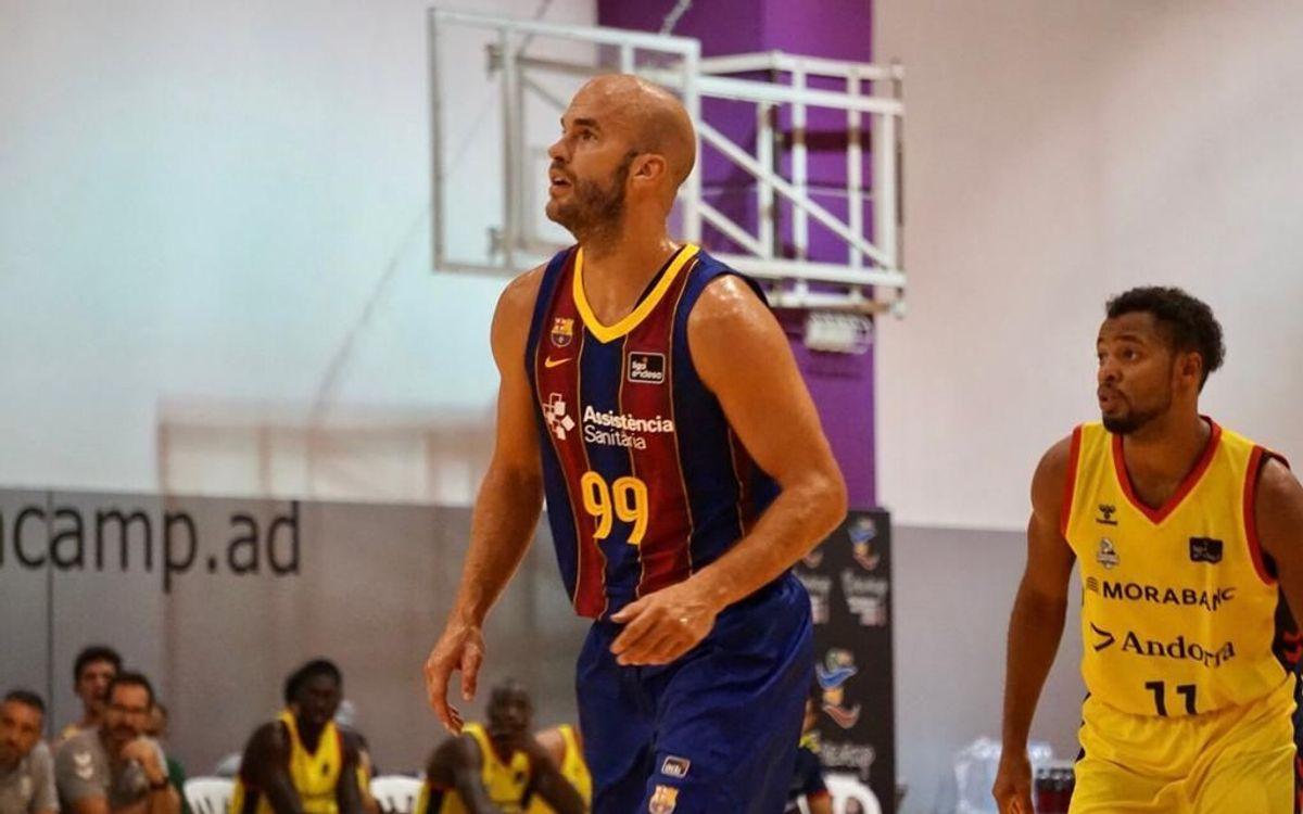 MoraBanc Andorra-Barça: Primeros minutos de rodaje (82-90)