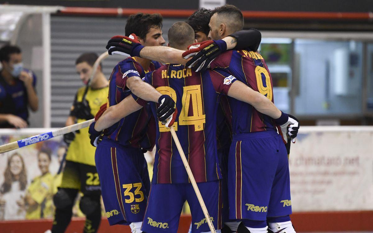 Mataró - Barça: Primeros minutos con buenas sensaciones (2-8)