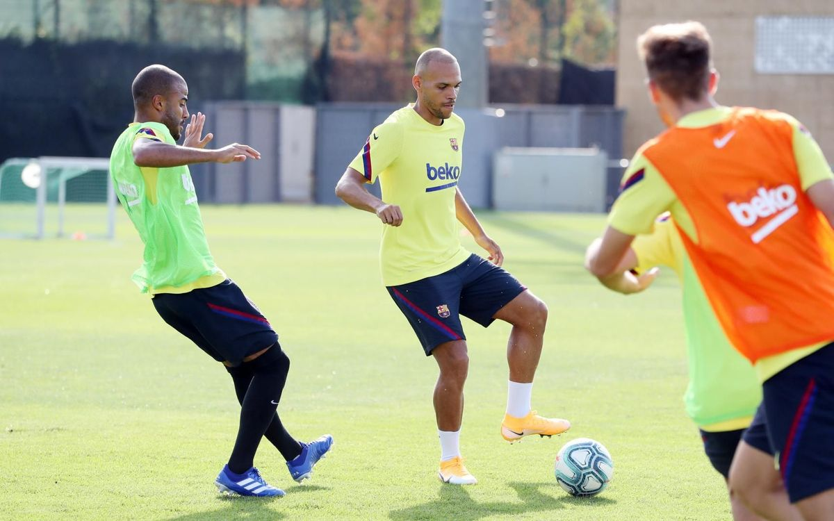 Nuevo entrenamiento en la Ciudad Deportiva