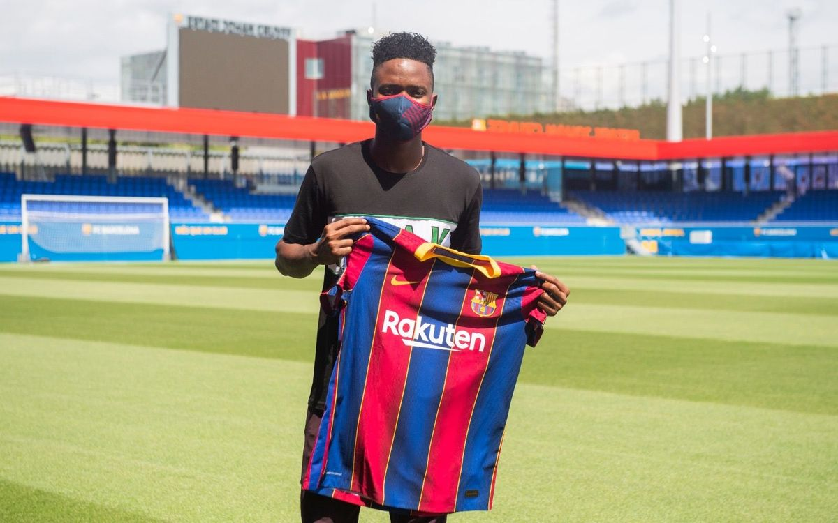 El Barça ficha a Moussa Ndiaye
