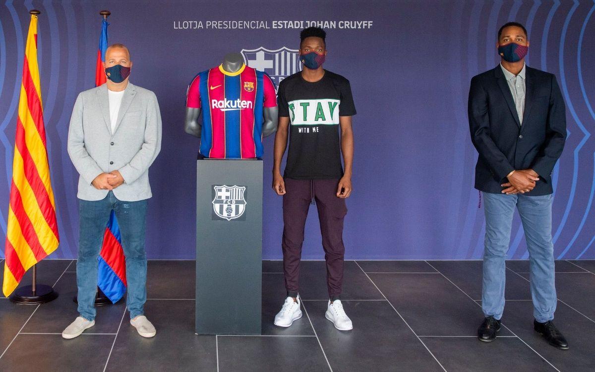 Barça sign Moussa Ndiaye