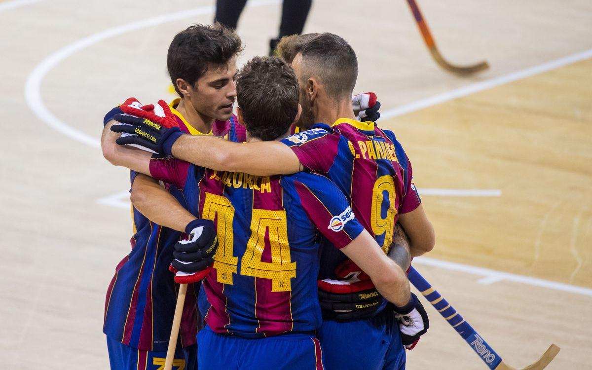 Barça 11-2 Mataró: Victorious return to the Palau