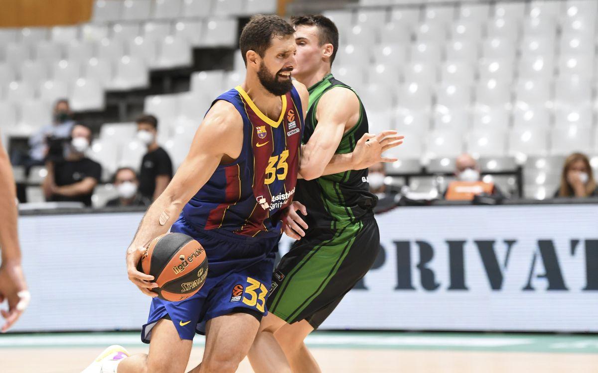 Joventut de Badalona 68–75 Barça: Reaction in the third quarter