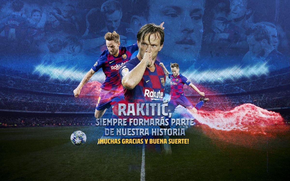Acuerdo con el Sevilla para el traspaso de Ivan Rakitic