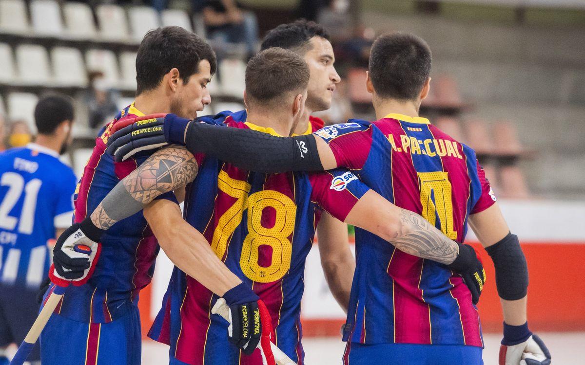 Barça - Taradell: Avanzan a semifinales (5-2)