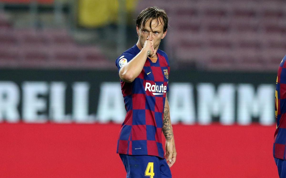 Rakitić volverá al Camp Nou 32 días después