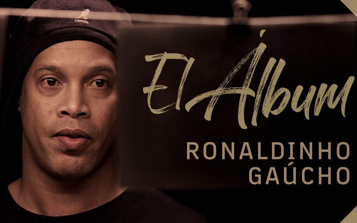 Ronaldinho revient sur son passage au FC Barcelone dans un nouvel épisode de la série 'El Álbum', de Barça Studios
