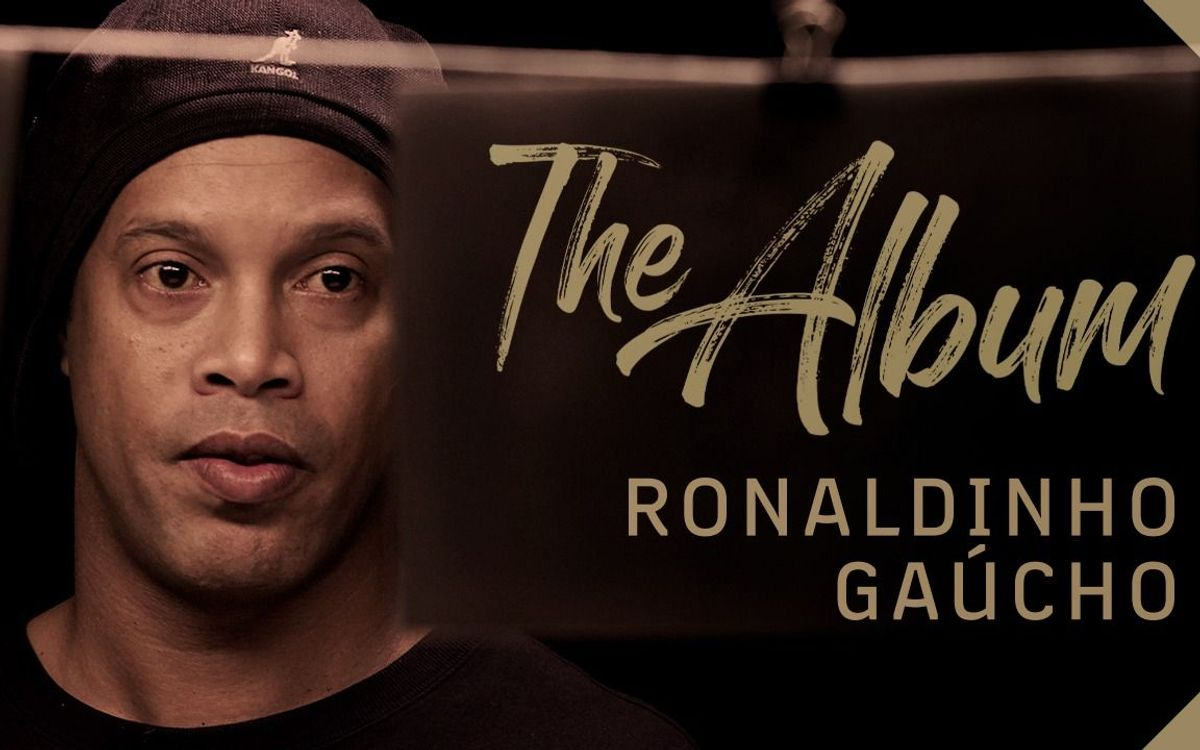 Ronaldinho looks back at his days at FC Barcelona in a new episode of 'The Album' documentary series produced by Barça Studios