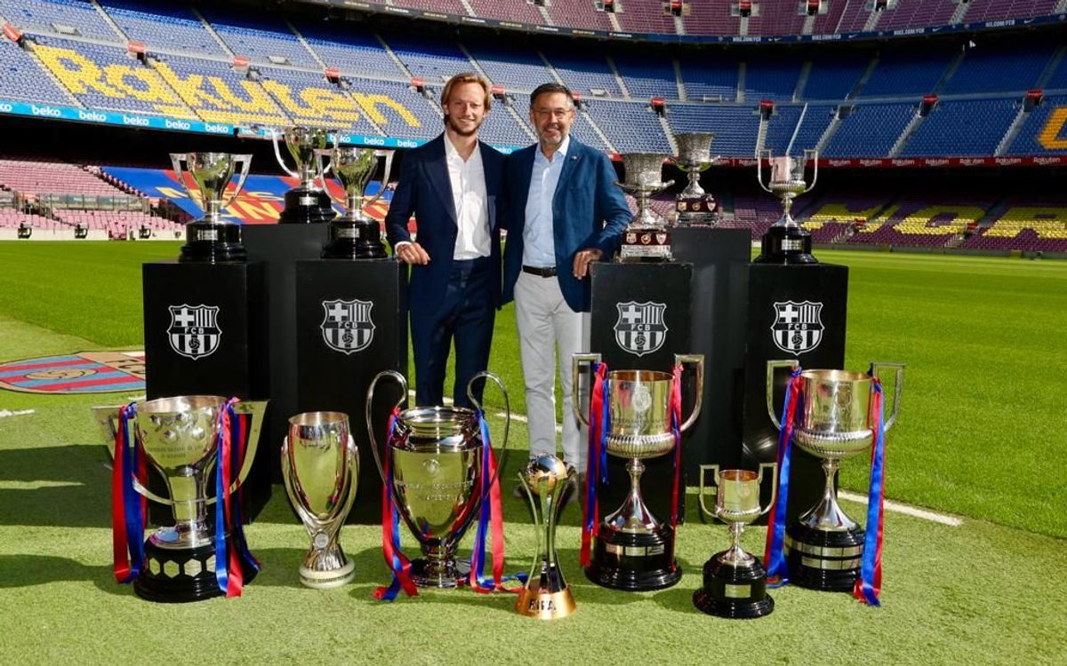 Rakitic : 'Je pars en gardant le Barça dans mon coeur'