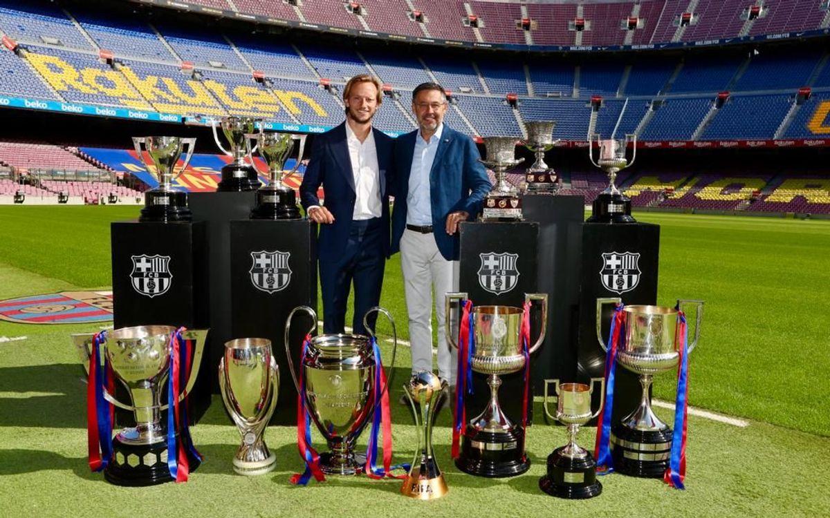 Rakitic: 'I am very grateful, I will carry Barça in my heart'
