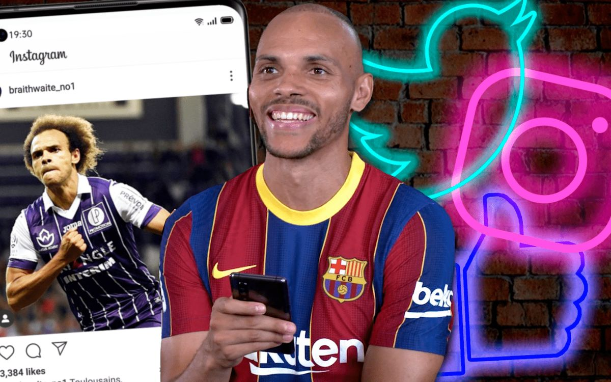 Joueurs VS réseaux sociaux : Martin Braithwaite