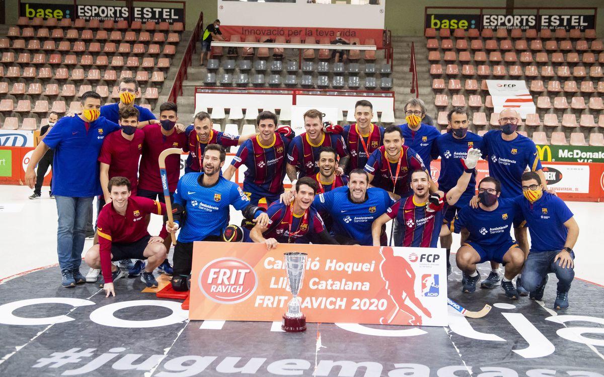 Noia Freixenet - Barça: ¡Campeones de la Liga Catalana! (3-7)