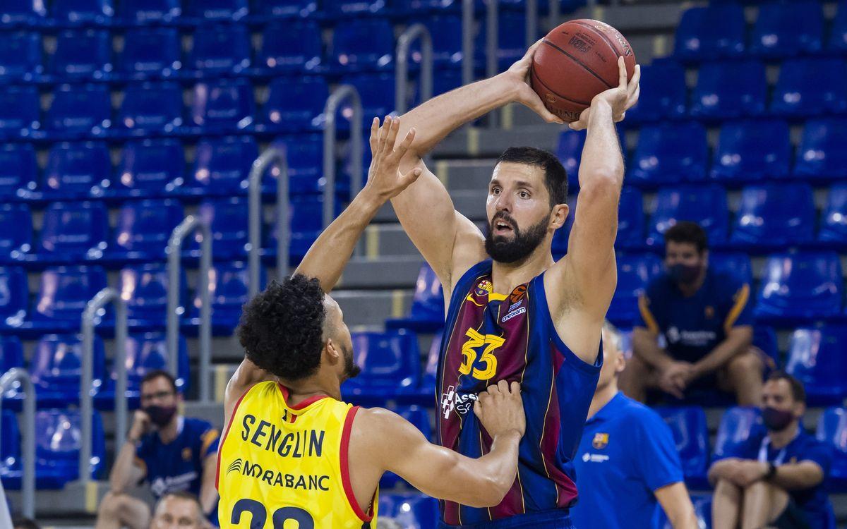 Barça - MoraBanc Andorra: La Liga Catalana escapa en los últimos segundos (84-85)