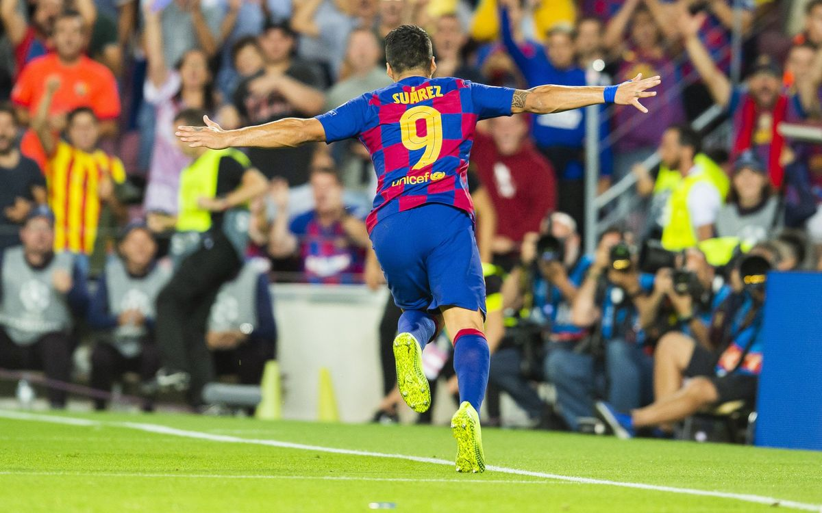 Los 9 goles que han marcado el paso de Suárez por el Barça