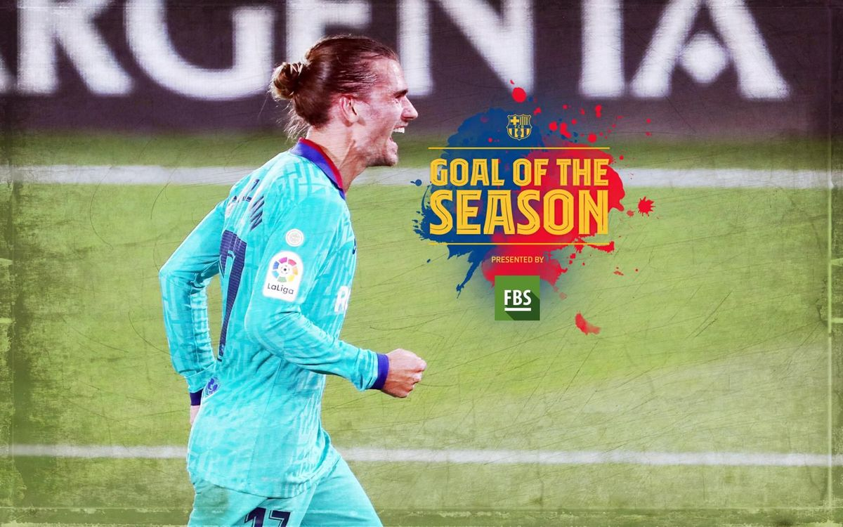 Griezmann's goal against Villarreal is the winner of the 'Goal of the season'