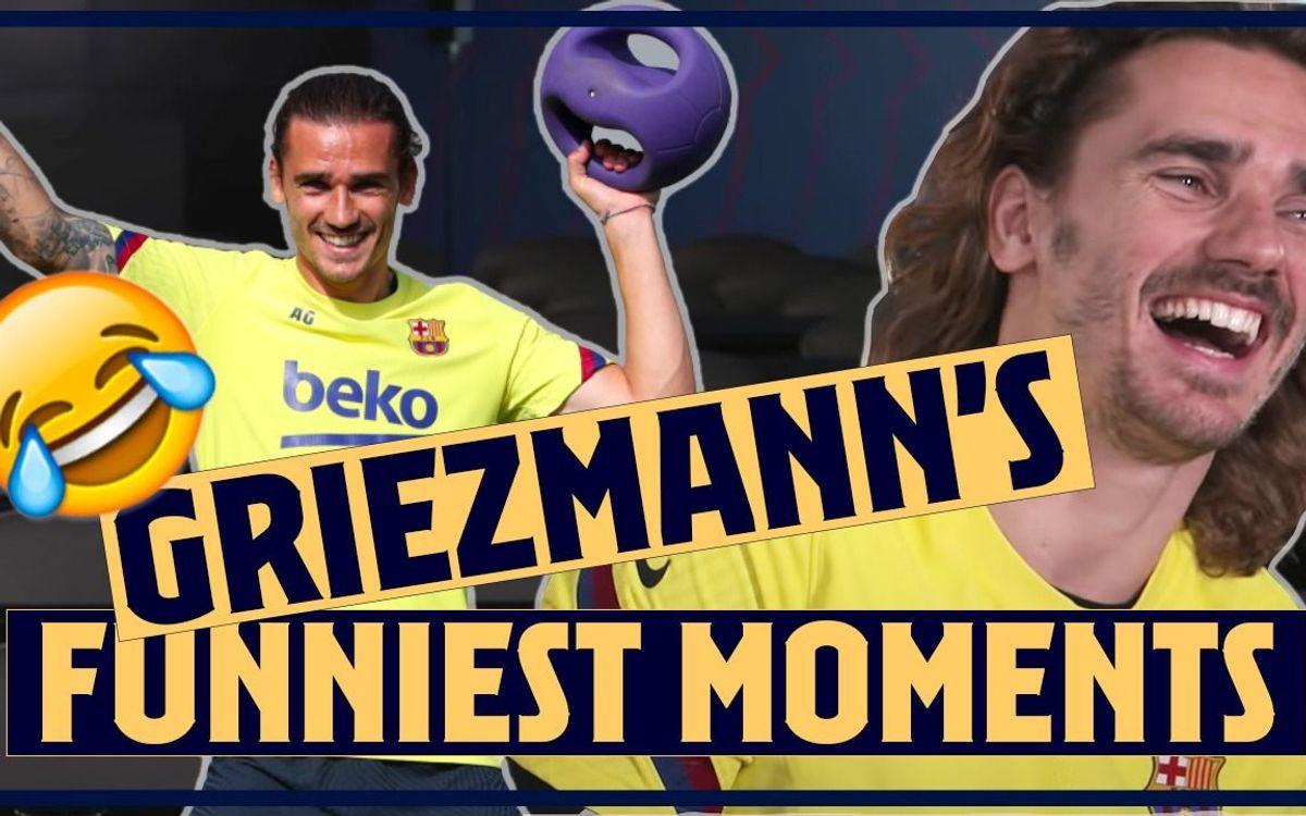 Le bêtisier de Griezmann au Barça