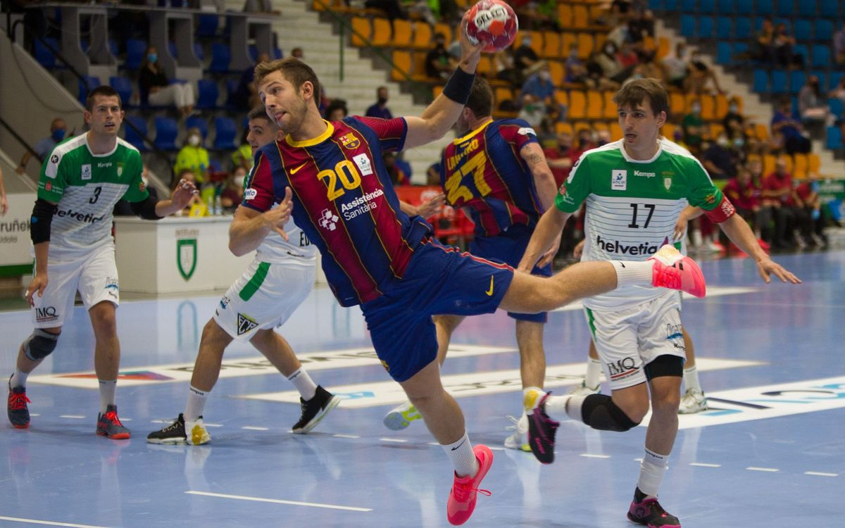 Helvetia Anaitasuna 18 - 31 Barça: A win to start the league season