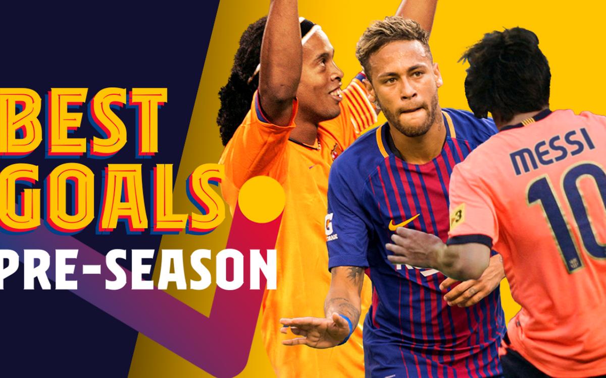 Le best-of des matches de préparation du Barça