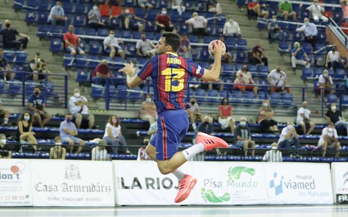 Logroño La Rioja 21–37 Barça: Not let up from the blaugranes