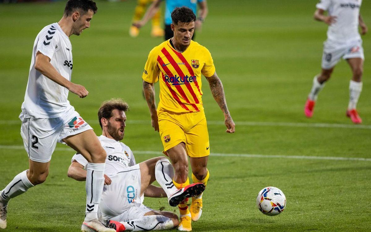 FC バルセロナ – ナスティック・デ・タラゴナ: 期待溢れるデビュー (3-1)