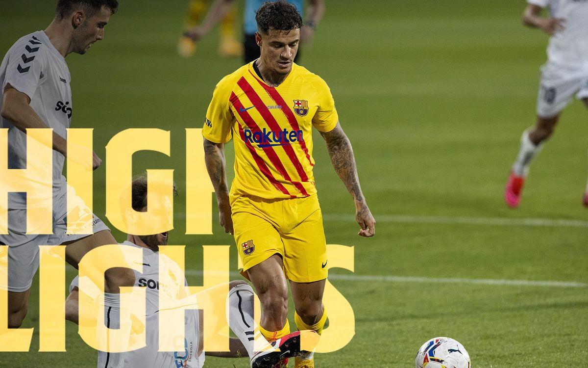 Les moments forts de Barça - Nastic (3-1)