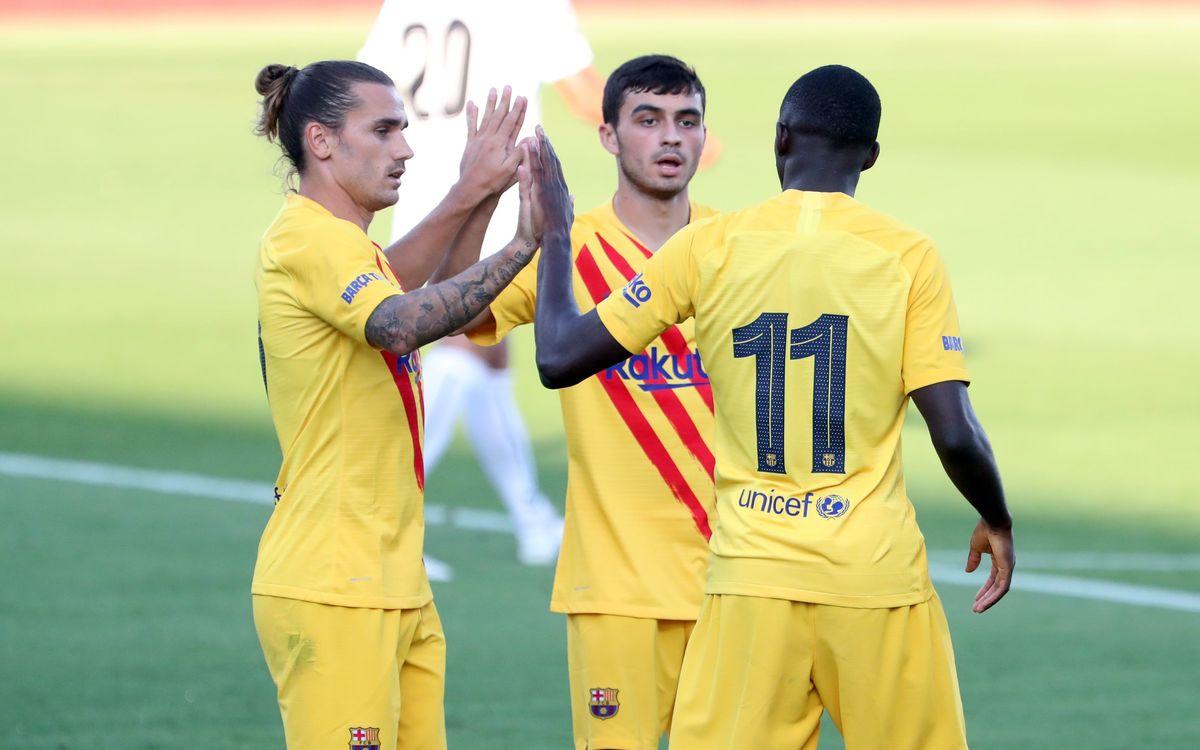 Barça - Nastic Tarragone: Première réussie (3-1)
