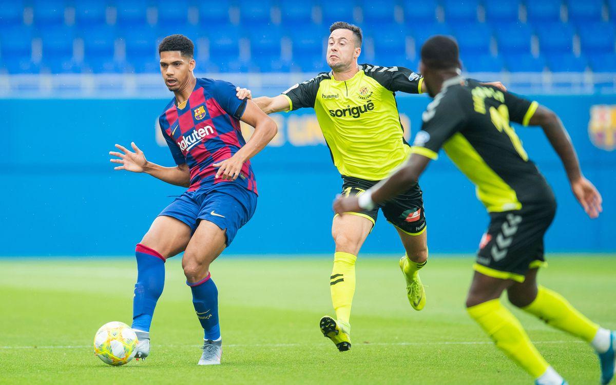 El Barça B debutará en la Liga contra el Nàstic