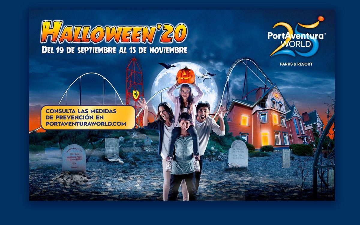 50% de descuento para los socios y tres acompañantes en el Halloween'20 de PortAventura World