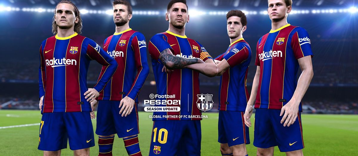 New eFootball PES 2021 FC Barcelona Edition now available