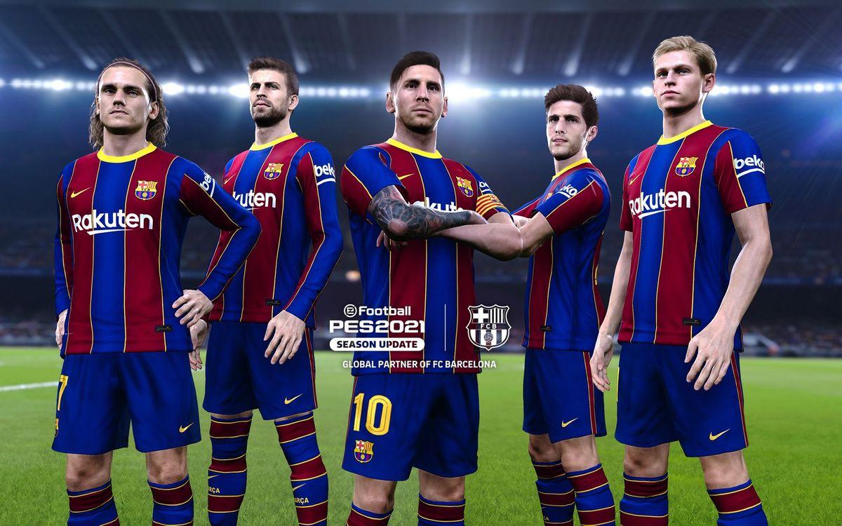 Le nouvel eFootball PES 2021 Édition Football est disponible