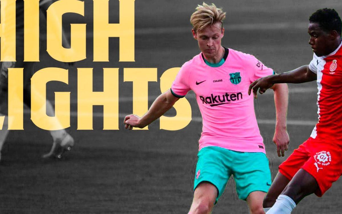 Les moments forts de Barça - Gérone (3-1)