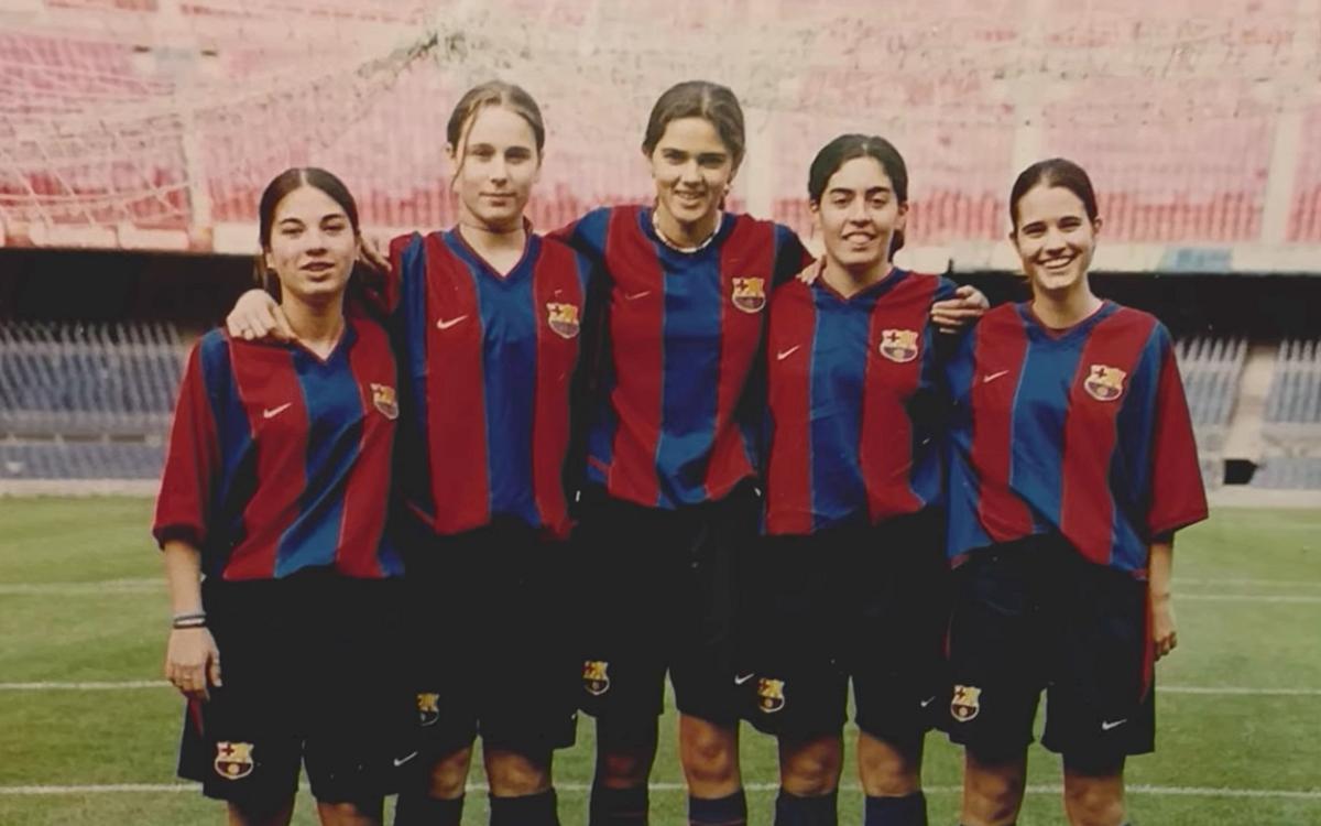 Jugar al FC Barcelona Femení va ser una reivindicació
