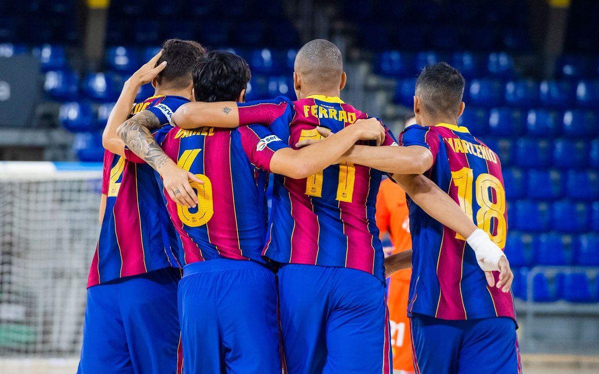 Ya hay calendario de liga de Primera y Segunda División de Futsal