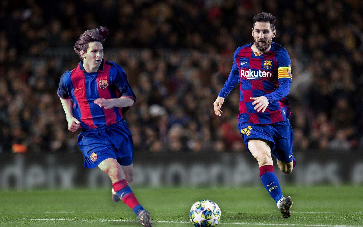 Messi : 20 records en 20 ans
