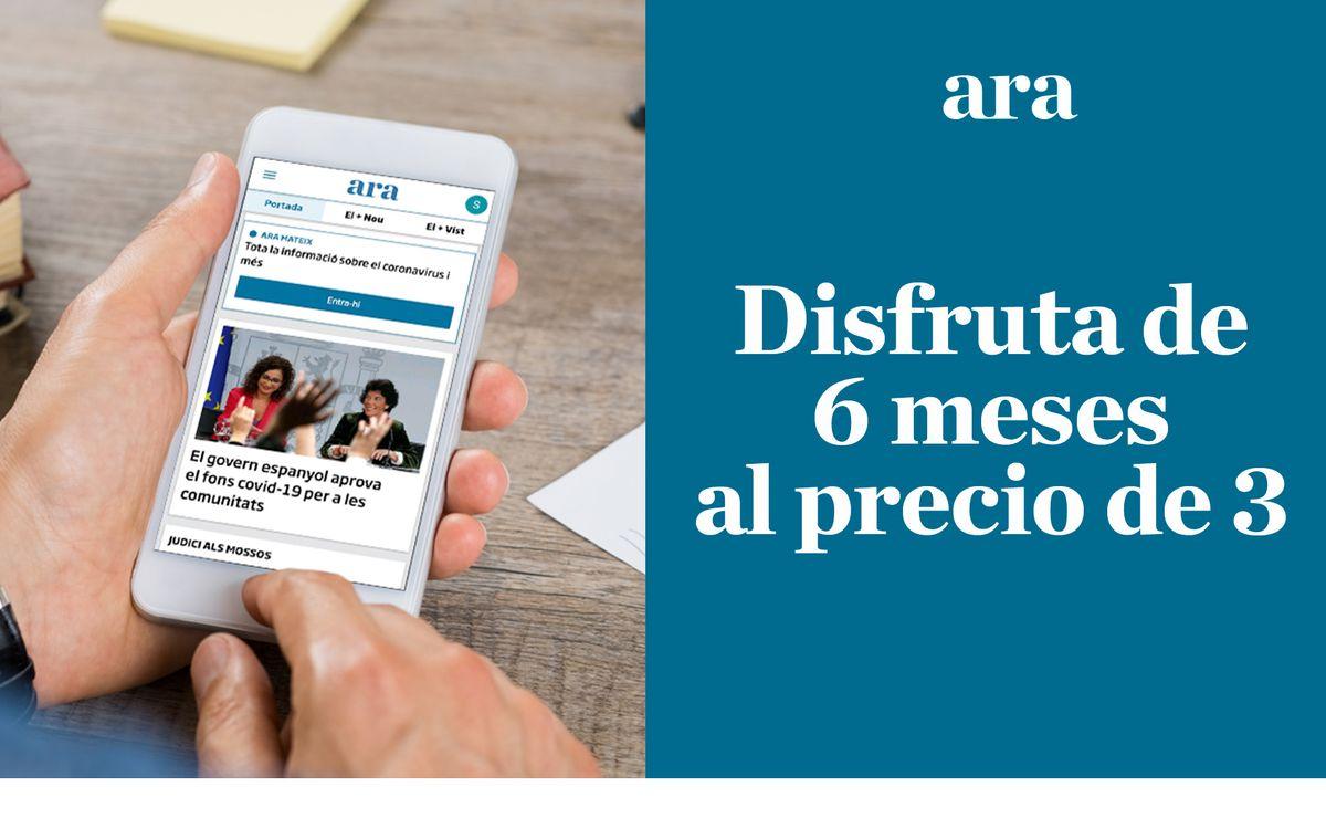 Promoción especial para disfrutar de una suscripción digital al diario Ara