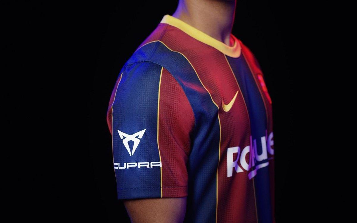FC Barcelona and CUPRA unite against Covid-19 in the Joan Gamper Trophy game