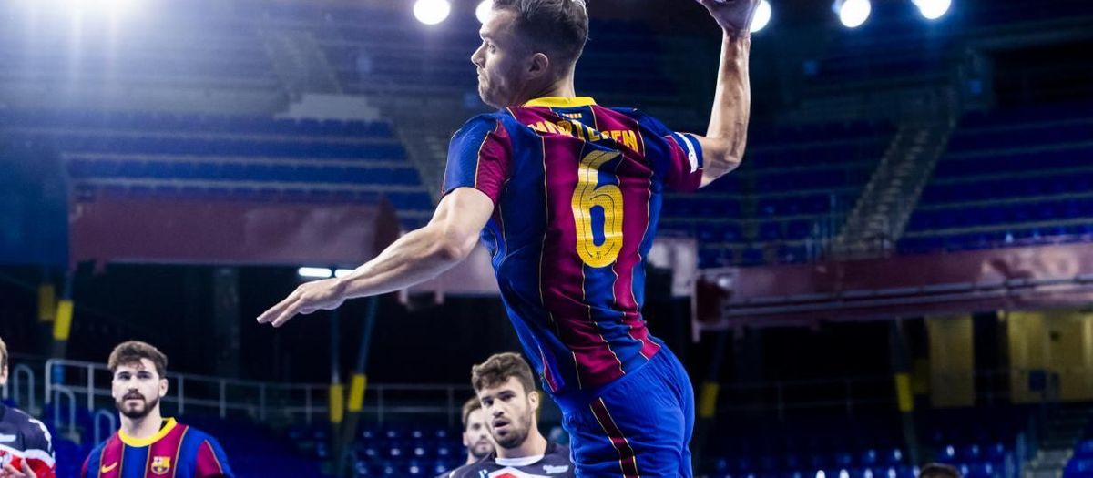 Barça 39-22 Viveros Herol BM Nava: Victorious debut at the Palau