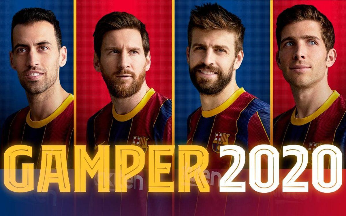 La présentation de l'effectif 2020-21 du Barça