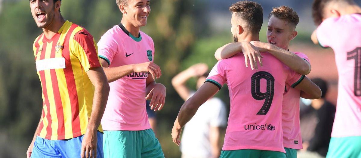UE Tona - Barça B: Victoria en el primer test de pretemporada (0-3)