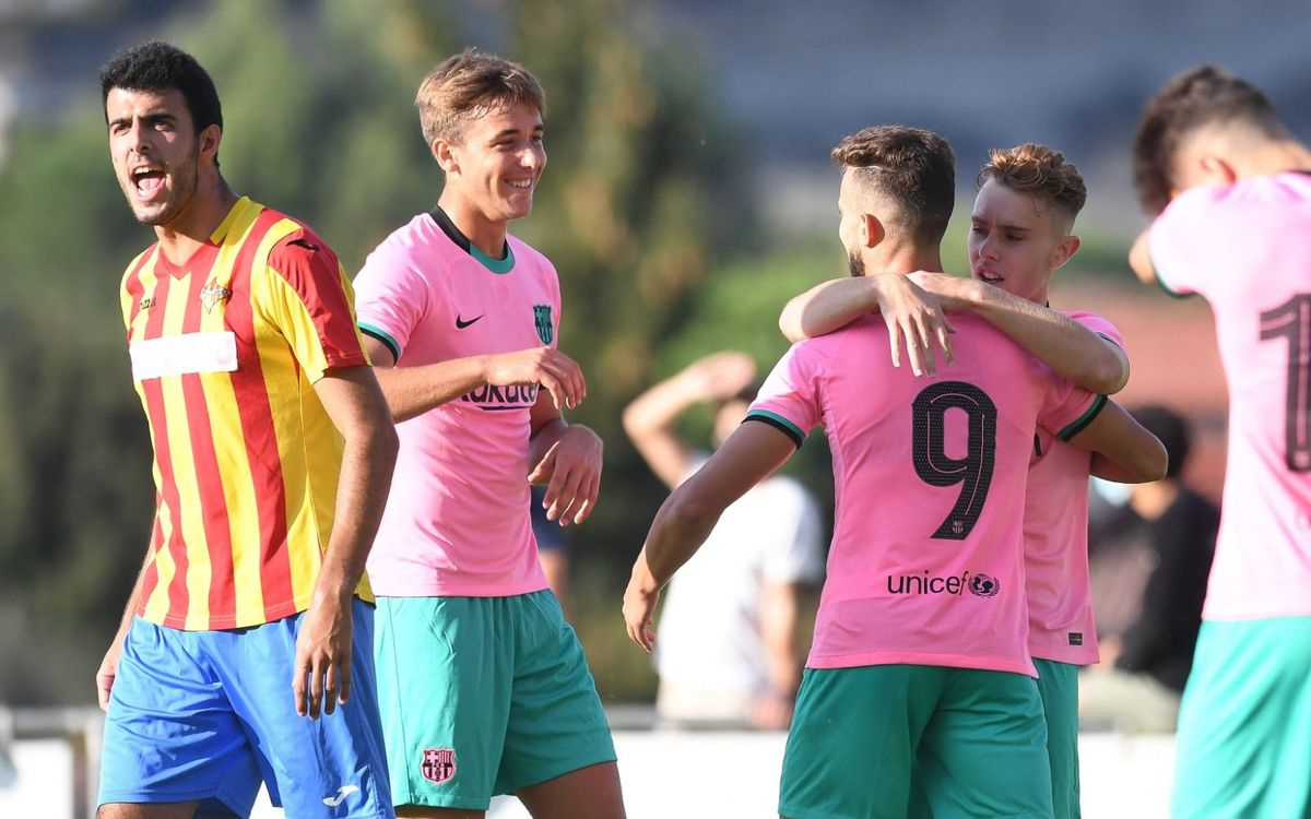 Tona v Barça B: Victory in the first pre-season test (0-3)